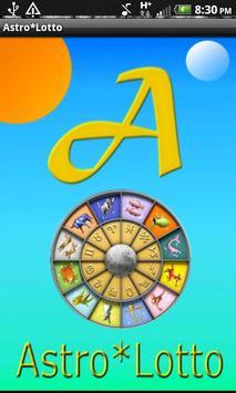 Astro*Lotto Free poster