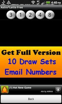 Astro*Lotto Free screenshot 4