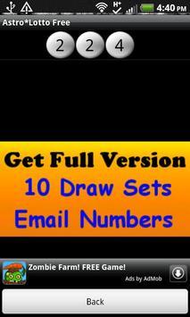 Astro*Lotto Free screenshot 5