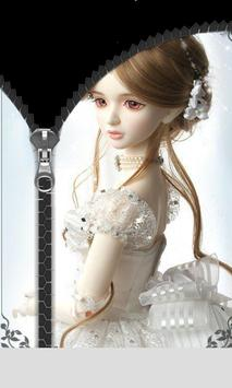 Princess Doll Zip Lock screenshot 3