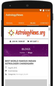Astrology News screenshot 1