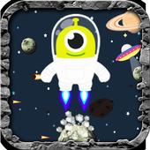 Happy Astronaut Jump icon