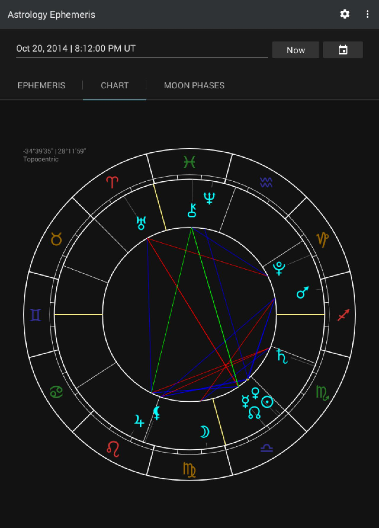 Ephemeris astrology 4 4 apk | Astrology Ephemeris  2019-04-19