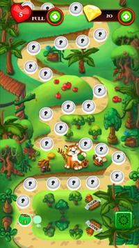 Jelly Match 3 Saga Immense Jungle Magic Adventure screenshot 1