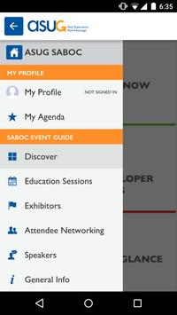 ASUG Events poster