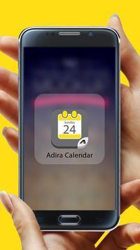 Adira Calendar poster