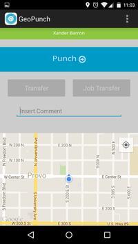 GeoPunch apk screenshot