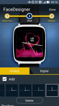 FaceDesigner:watch face making apk screenshot