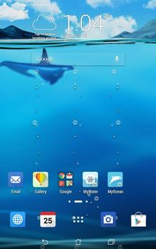 ASUS LiveOcean(Live wallpaper) apk screenshot
