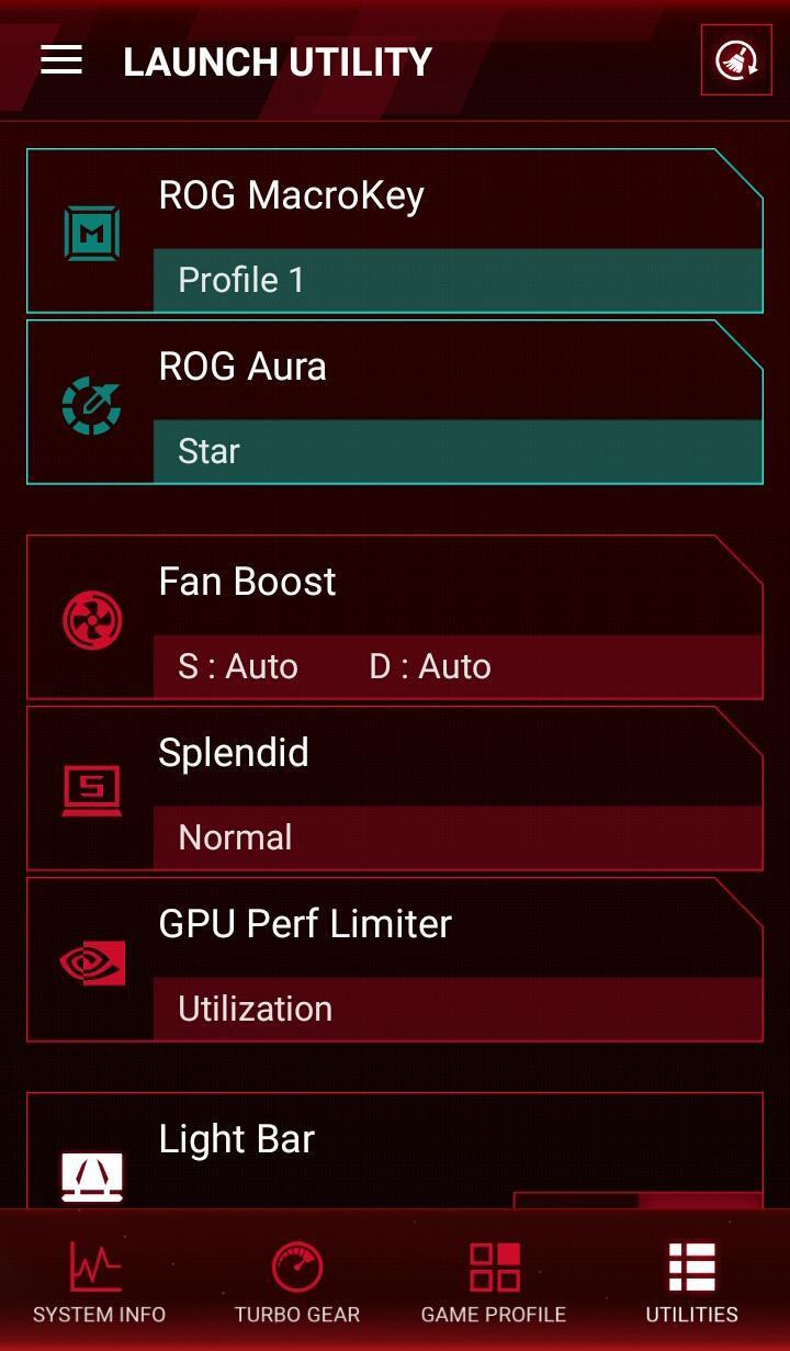 ROG Gaming Center para Android - APK Baixar