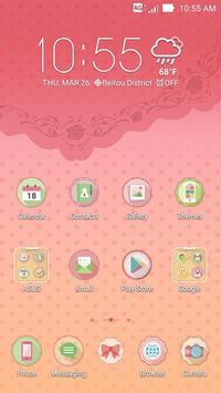 Afternoon Tea ASUS ZenUI Theme apk screenshot