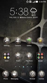 Iron ASUS ZenUI Theme apk screenshot