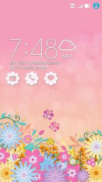Lovely Pink ASUS ZenUI Theme poster