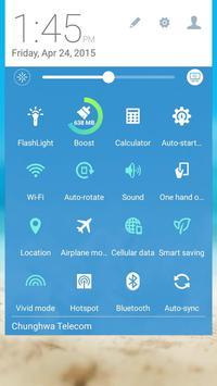 Travel ASUS ZenUI Theme apk screenshot