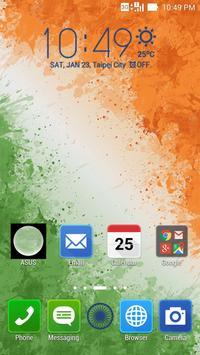 India Republic Day ASUS Theme apk screenshot