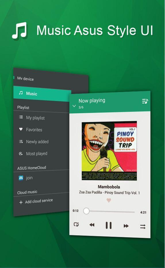 Music style Asus Player for Android - APK Download