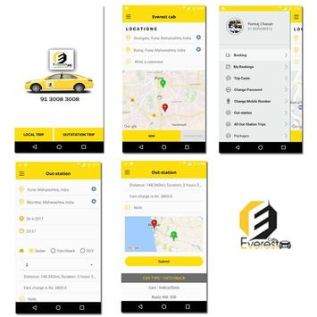 Everest Cabs apk screenshot