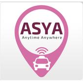 AsyaTaxi - Car Booking App icon
