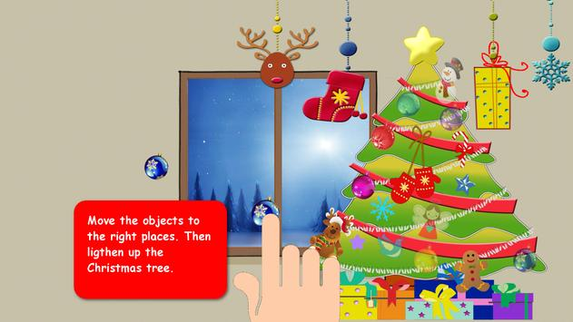 Christmas Puzzle For Kids screenshot 1