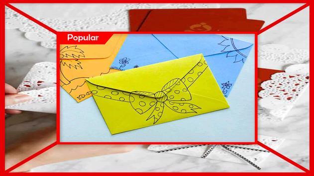 Christmas Gift Envelopes Craft Project screenshot 3