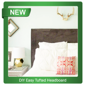 DIY Easy Tufted Headboard icon