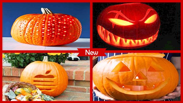Easy Pumpkin Carving Ideas poster