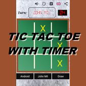 Tic Tac Toe  Timer icon