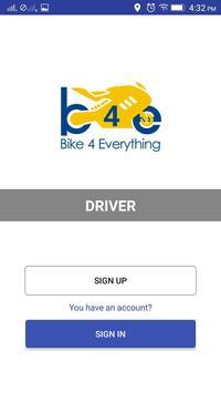 B4E Business APP Driver Application screenshot 1