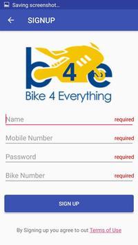 B4E Business APP Driver Application screenshot 3