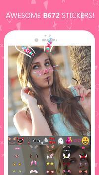 B672 Selfie - Sweet iCamera apk screenshot
