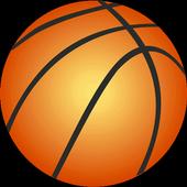 Basket 3 point shots free game icon