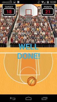 Basket 3 point shots free game apk screenshot