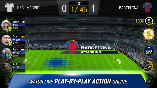 FastWin Soccer – Live The Game apk screenshot