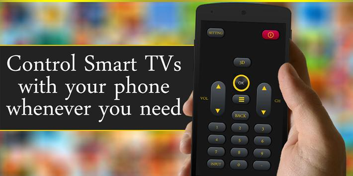 Smart Remote Control for TV poster