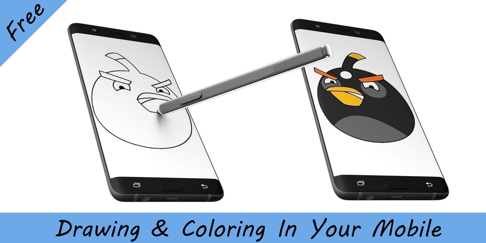 Cómo dibujar aves enojado Descarga APK - Gratis Educativos Juego ...