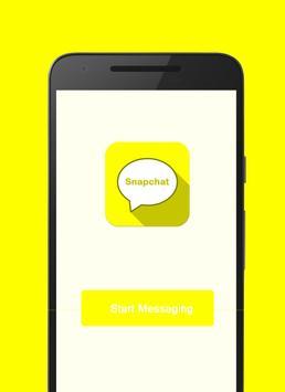 Messenger for Snapchat poster