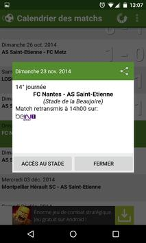 Foot Info Saint-Etienne screenshot 5