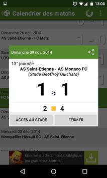Foot Info Saint-Etienne screenshot 6