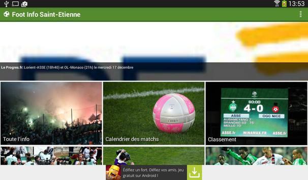 Foot Info Saint-Etienne screenshot 15