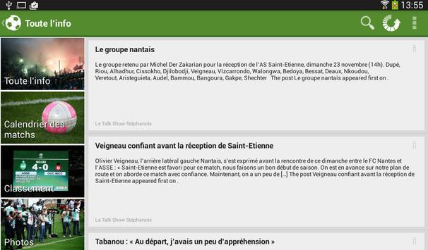 Foot Info Saint-Etienne screenshot 16