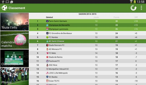 Foot Info Saint-Etienne screenshot 19