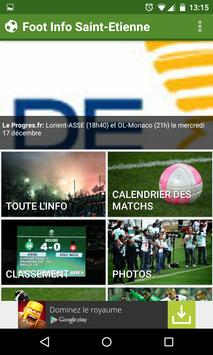 Foot Info Saint-Etienne screenshot 1