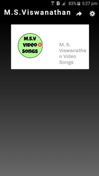 M. S. Viswanathan Video Songs poster