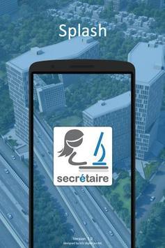 secrétaire - smart bridge - secretary & manager poster