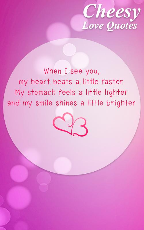 Cheesy Love Quotes | Cheesy Love Quotes For Android Apk Download
