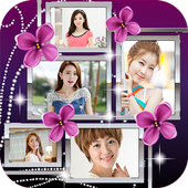Flower Frame Photo Collages icon