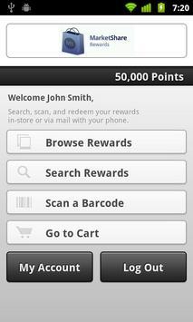 MarketShare Rewards poster