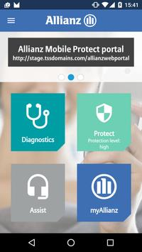 Allianz Mobile Protect poster