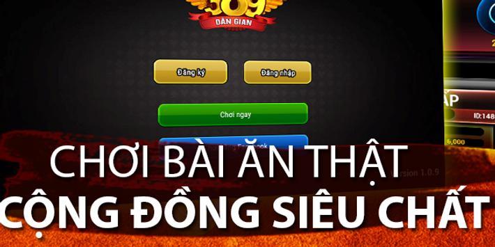 B389: Game Danh bai online apk screenshot