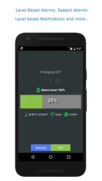 Full Battery Alarm and Battery Low Alarm screenshot 1